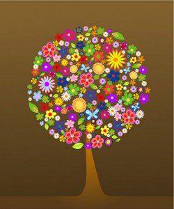 samengesteld-uit-kleurrijke-bloemen-de-bomen-vector-materiaal_15-315